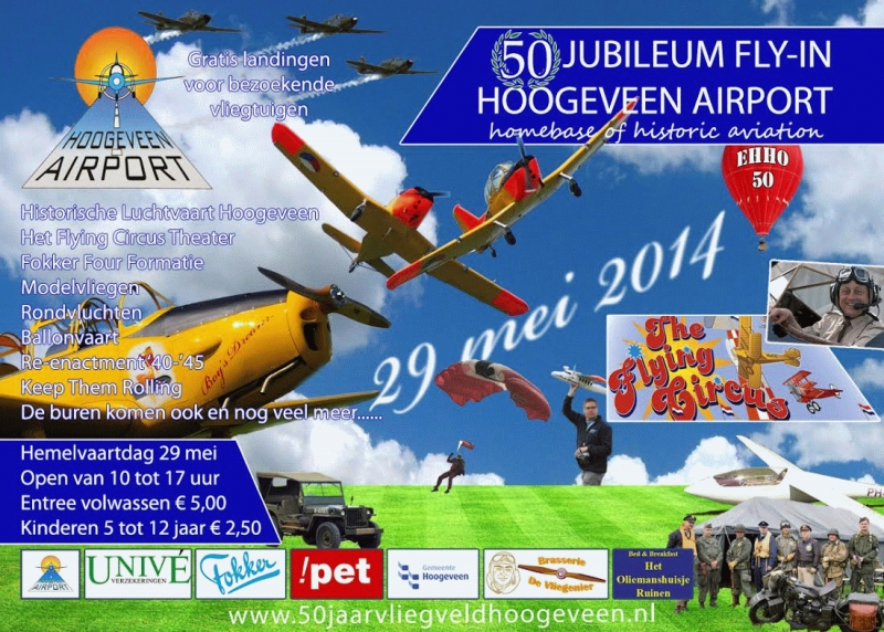 50 jaar vliegveld Hoogeveen