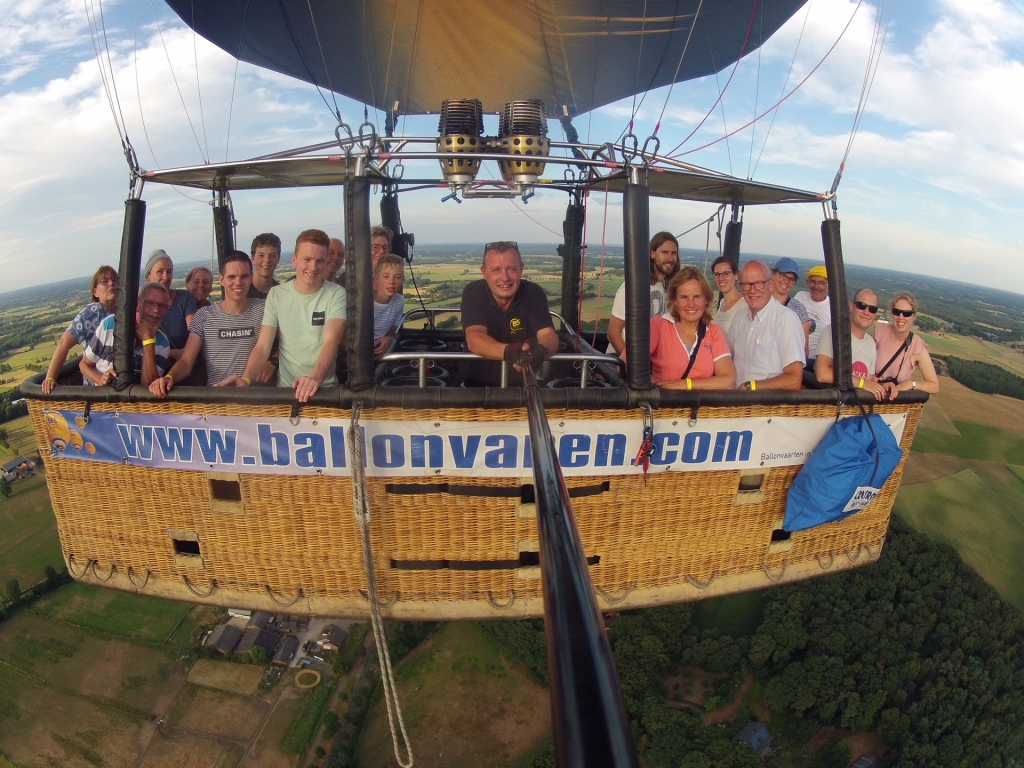 Ballonvaart 30 juli Deventer