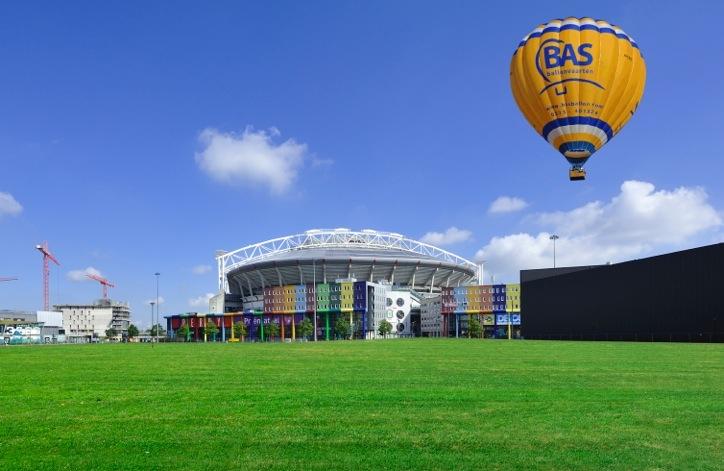 Ballonvaart Amsterdam ArenA