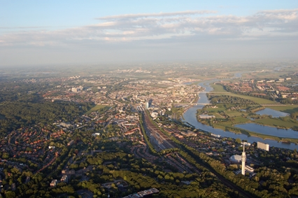 Ballonvaart in Arnhem