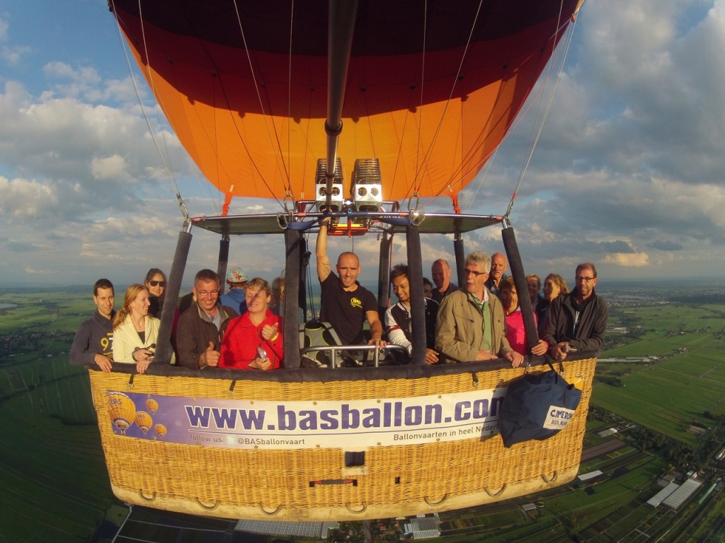 Ballonvaart Gouda