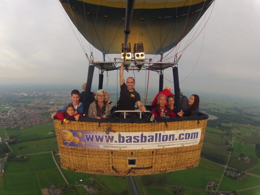 Ballonvaart Groesbeek