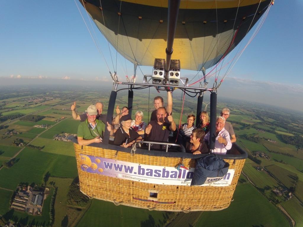 Ballonvaart Harfsen