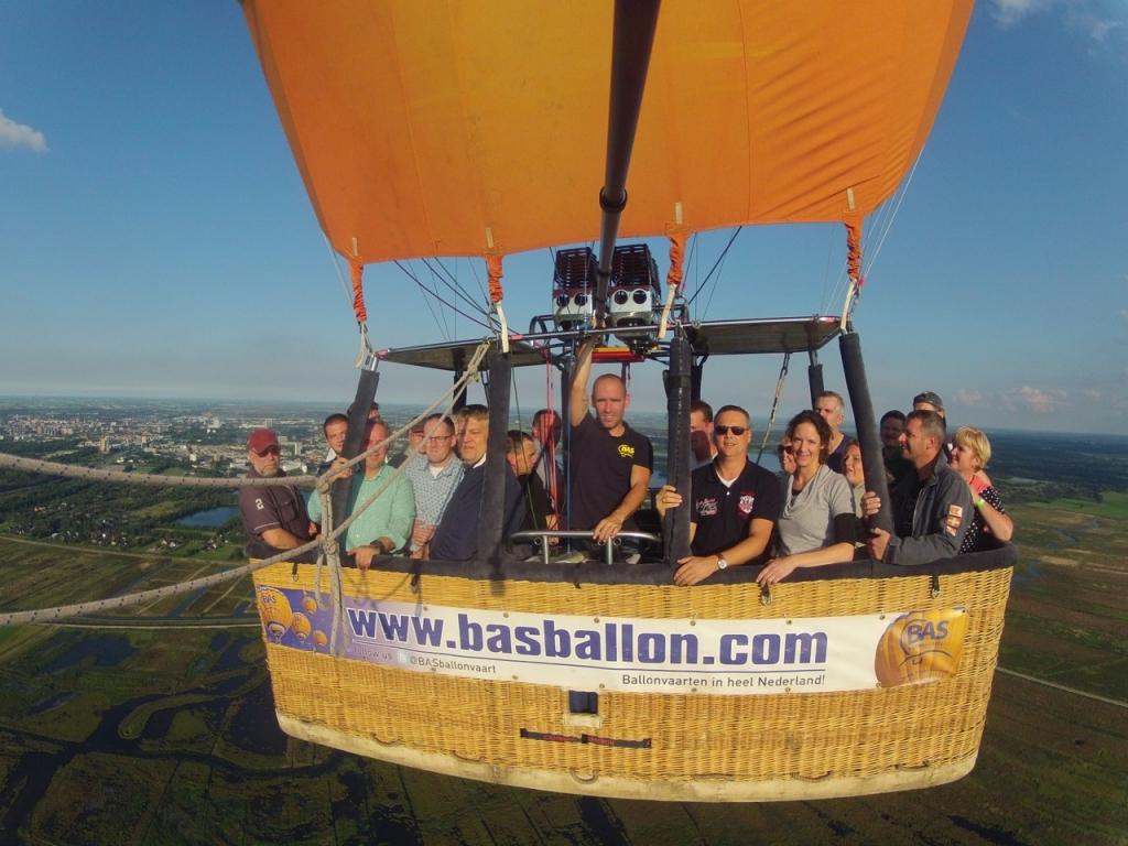 Ballonvaart Technische Unie Groningen