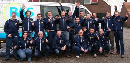 Ballonvaart-crew