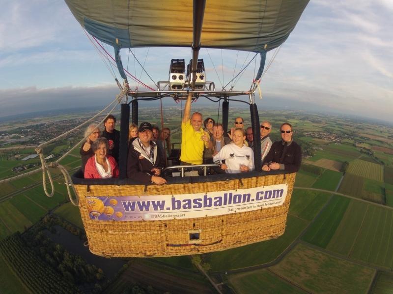Ballonvaart in Druten