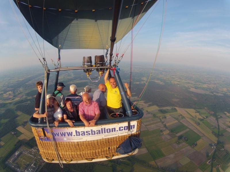 Ballonvaart in Wijhe