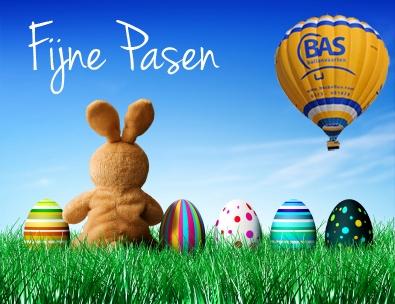 Ballonvaart met Pasen