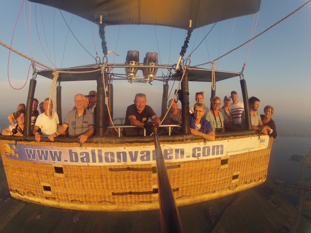 Ballonvaren op 1 augustus in Joure