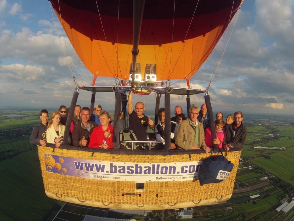 Ballonvaren naar Moordrecht