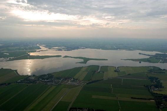 Ballonvaren in Friesland
