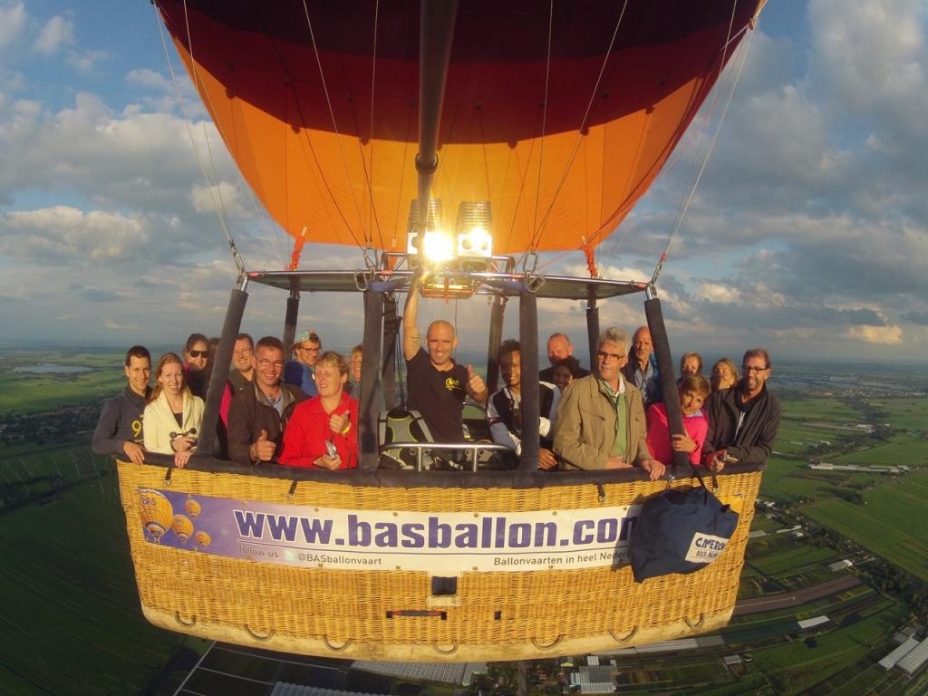 Ballonvaren in Gouda