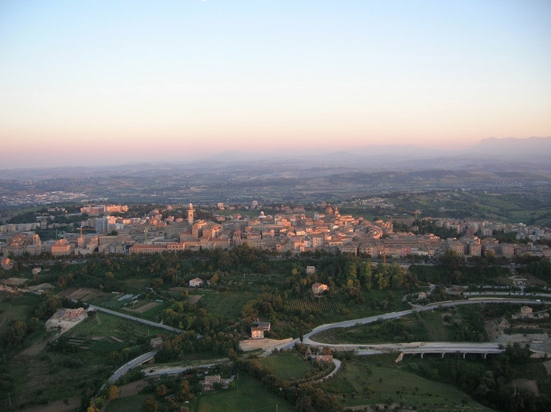 Ballonvaren Italie