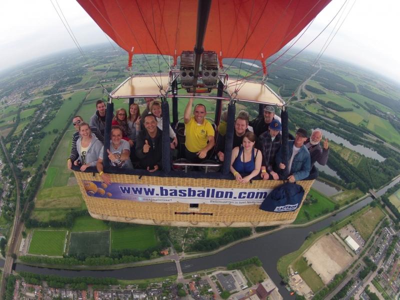 Ballonvaren in Tilburg