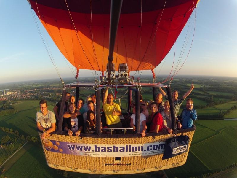 Ballonvaren in de Achterhoek
