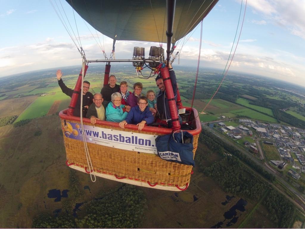 Ballonvlucht in Nijverdal