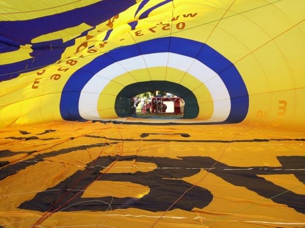 Binnenkant Luchtballon