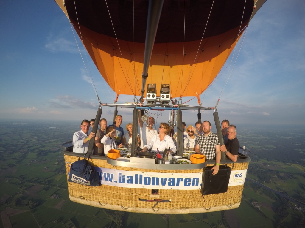 CuliAir ballonvaart met Versvishandel Jan van As