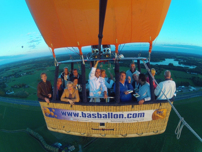 CuliAir ballonvaart Apeldoorn Harfsen
