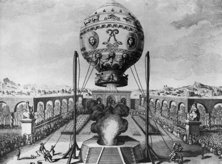 Geschiedenis van de ballonvaart