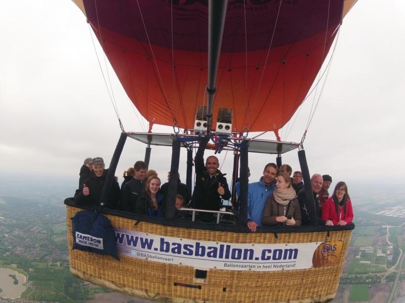 Heteluchtballonvaart-Emmen