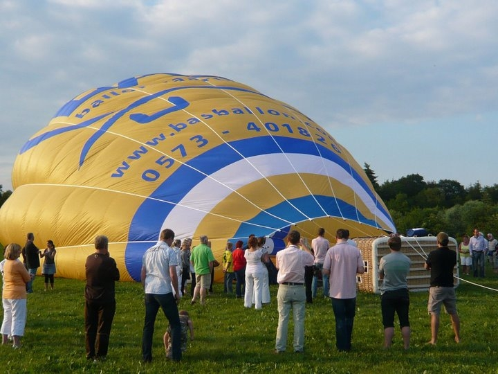 Luchtballon in Doetinchem
