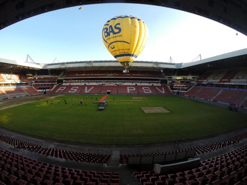Luchtballon-PSV-Stadion