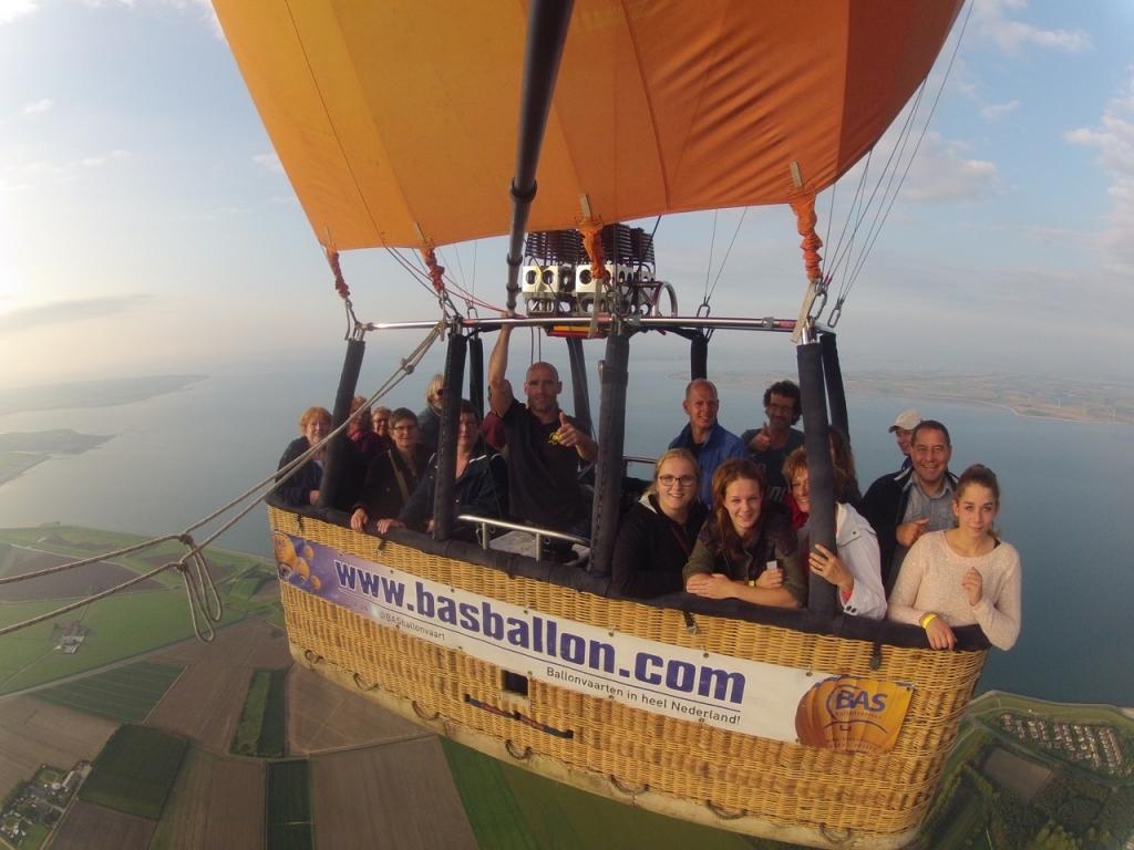 Luchtballon boven zeeland