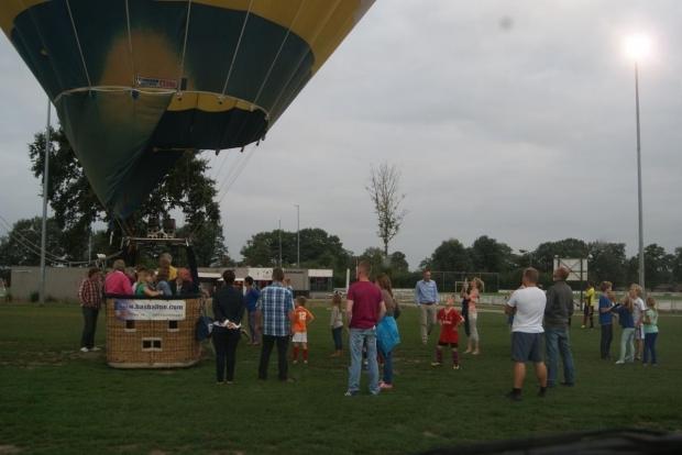 Luchtballon bij vv Saalsveldia