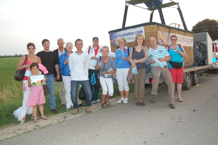 Luchtballon doop in Werkhoven