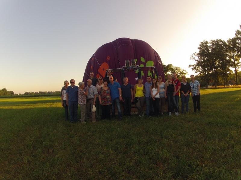 Luchtballon in Eefde
