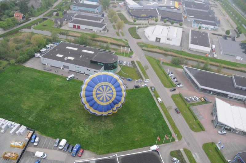 Luchtballon in Schagen