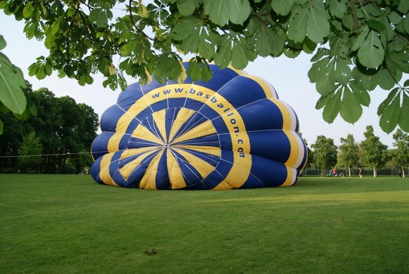 Luchtballon in het Goffertpark