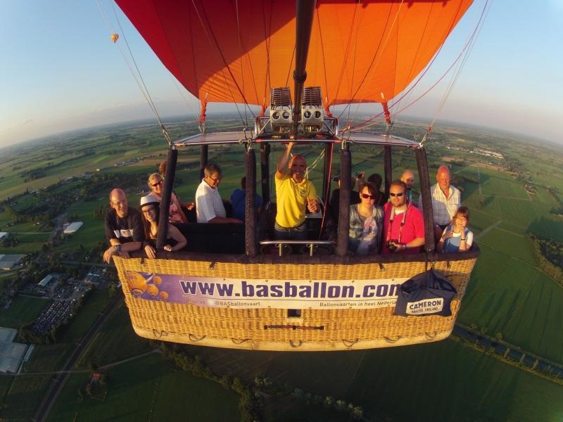 Luchtballonvaart Apeldoorn