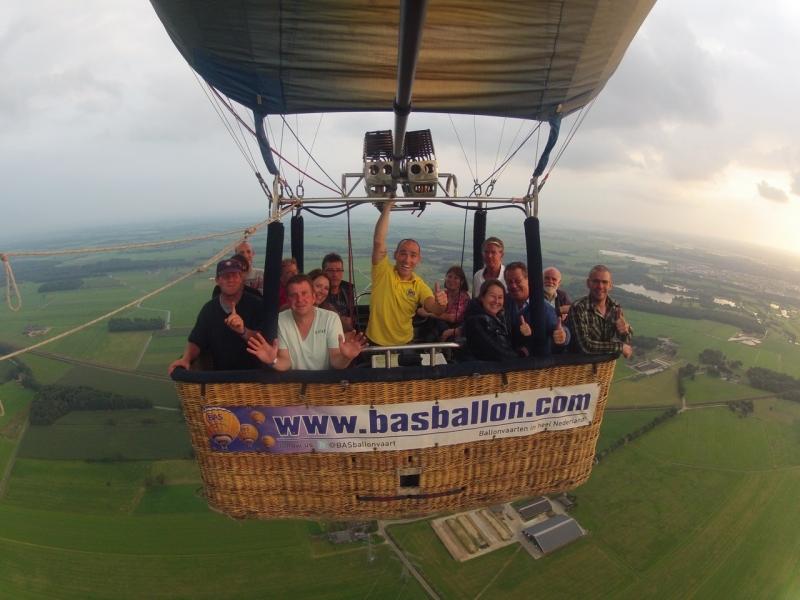 Luchtballonvaart Zwolle