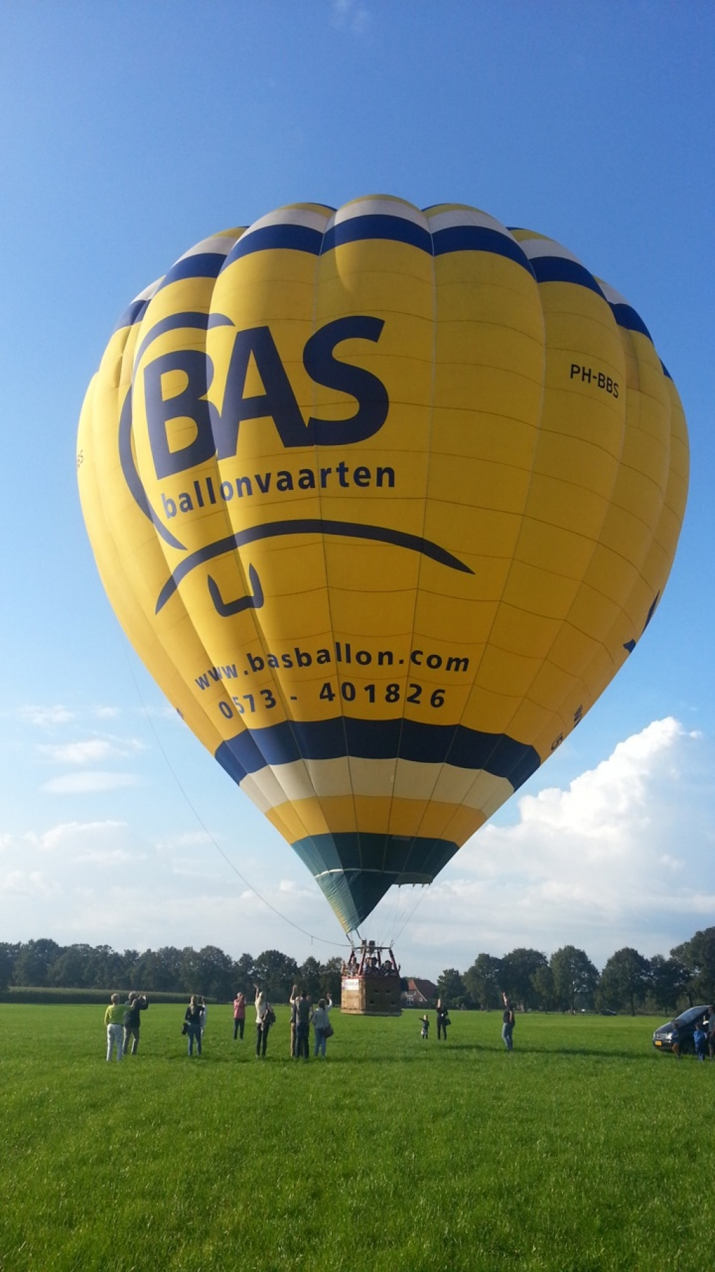 PH-BBS Luchtballon