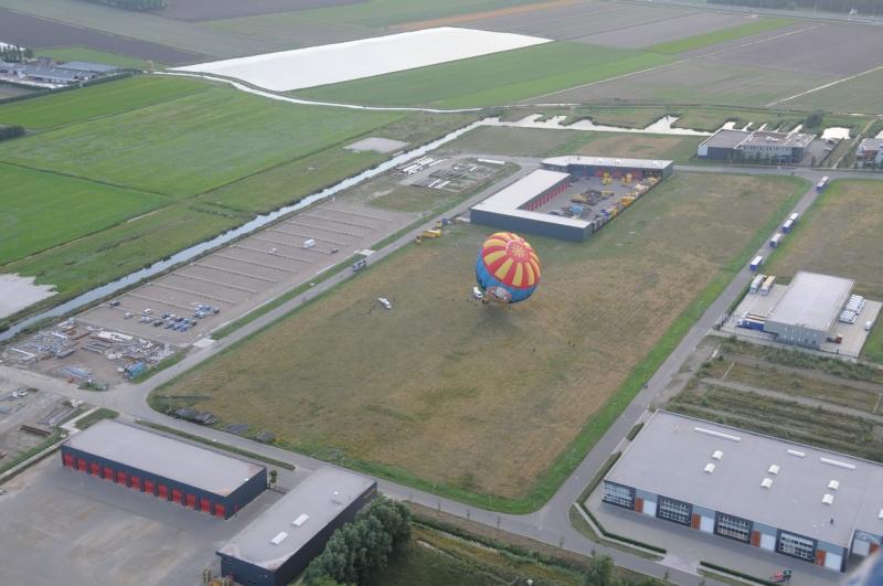 Startveld ballonvaart Alkmaar
