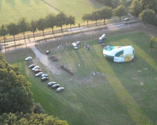Ballon startveld Amersfoort