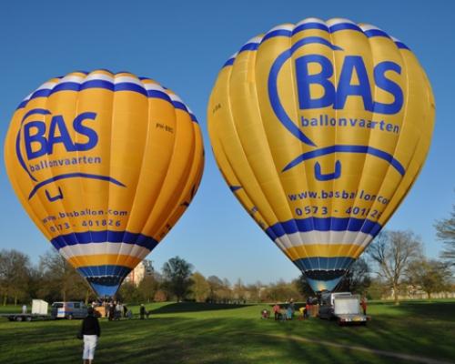 Ballonvaart in Deventer