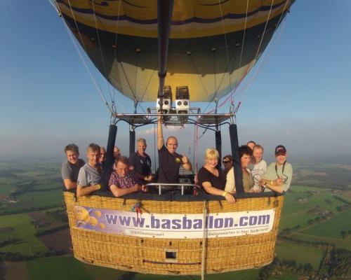 Ballonvaart in Dijkerhoek