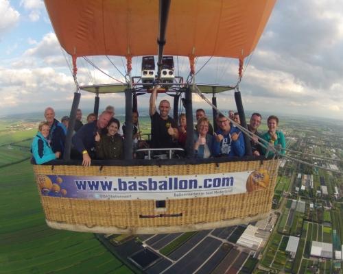 Ballonvaart boven het Groene Hart