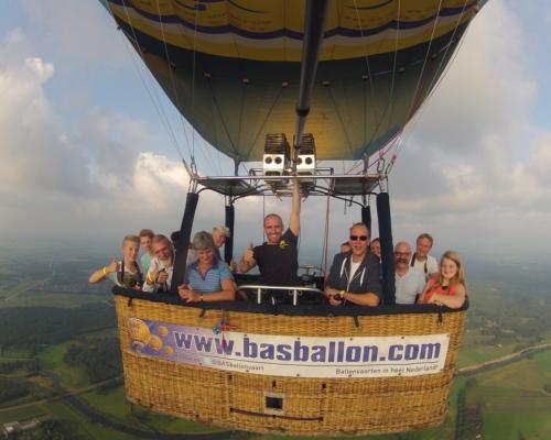 Ballonvaart in Heino
