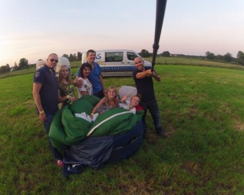 Ballonvaart-Landing-Valkenswaard