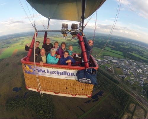 Ballonvaart in Nijverdal