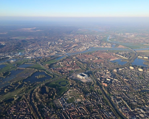 Ballonvaart-boven-Arnhem