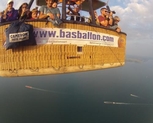Ballonvaart over de Oosterschelde