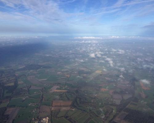 Ballonvaart Uitzicht