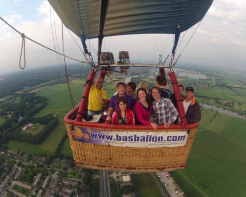 Ballonvaart Arnhem Steenderen
