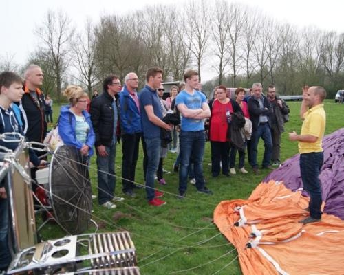 Ballonvaart Briefing Nieuwegein