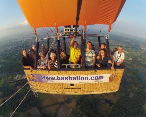 Ballonvaart Nijmegen naar Reek